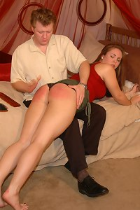 Madison Martin gets spanked after she breaks up with Danny Crighton
