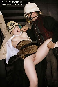 KenMarcus Sample Gallery Nicotine and the Marquis de Vice Steampunk Cellar Domination
