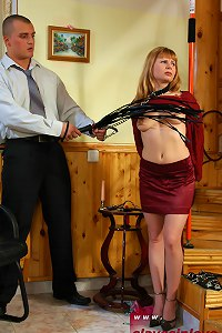 Wife punished by cruel husband