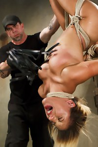 Liv Aguilera in extreme bondage and brutal torment.