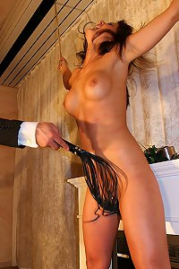 Perfect body girl flogged