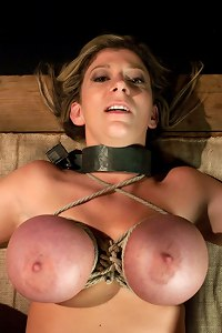 Sara Jay fucked and dominated in real bondage!