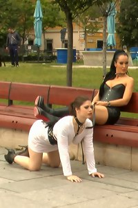 Longtime PD Fan and public whore Lucia Love is greedy to be used on Public Disgrace!!!