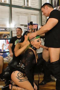 Lola is back again on Public Disgrace for more humiliation, shaming, and debauchery!