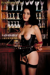 KenMarcus Sample Gallery Glamour Star Dita von Teese - Classic Bondage Outdoor Mansion