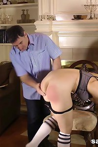 Sarah Spanked by Her Men