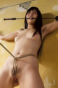 Japanese submissive Marica Hase learns to endure rough handling and Japanese style rope bondage, face fucking, pussy pounding and deep anal sex.