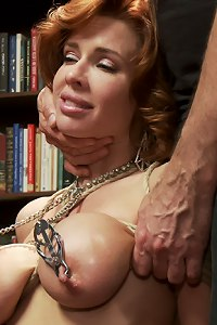 Nymphomaniac Anal MILF Veronica Avluv is trained to suck, fuck and take huge cock in the ass like a good little domestic slut