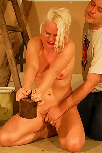 Slavegirl Punished at Work